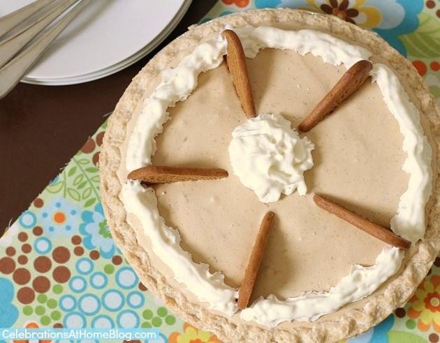 Biscoff ice cream pie recipe