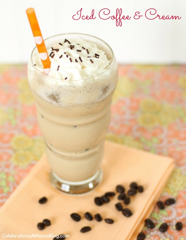 Iced Coffee & Cream recipe