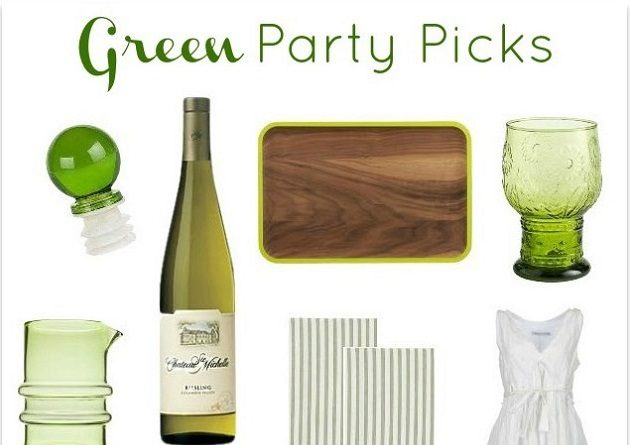 Host A Green Infused Party