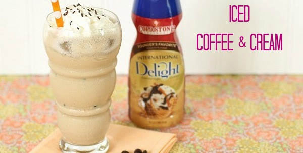 Iced Coffee & Cream Recipe