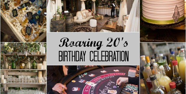 1920's Speakeasy Birthday Celebration {Guest Feature}