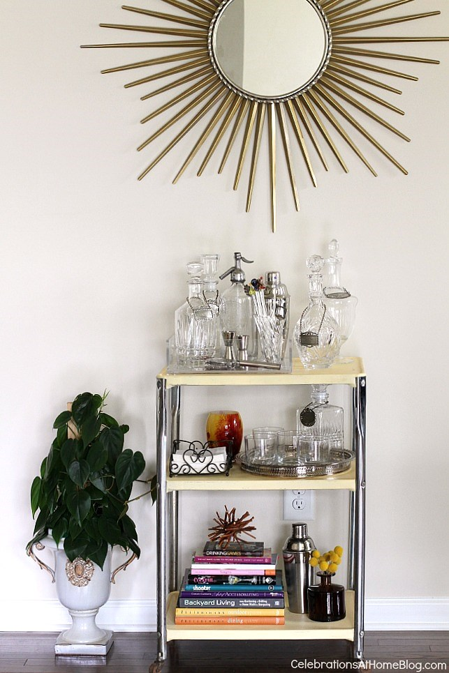 vintage-bar-cart-styled