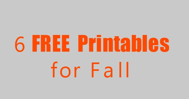 fall freebies