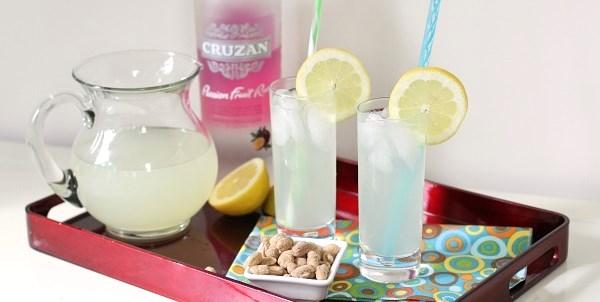Passion Fruit-Lemonade Cocktail