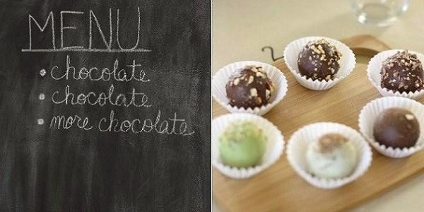 Entertaining : Ladies Night Chocolate Tasting Party