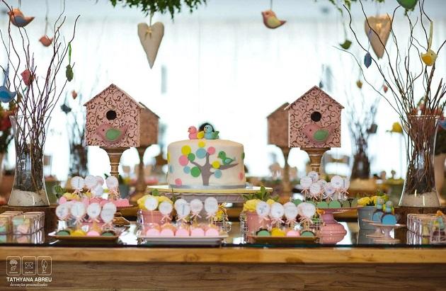 Little Birdie Birthday party by Tathyana Abreu