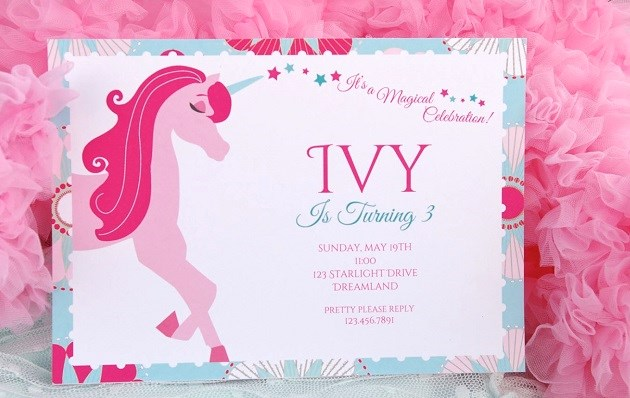 Unicorn Themed Birthday Party {Guest Feature ...