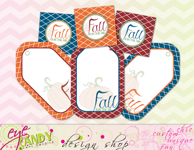 free fall gift tags from Eye Candy Event Details