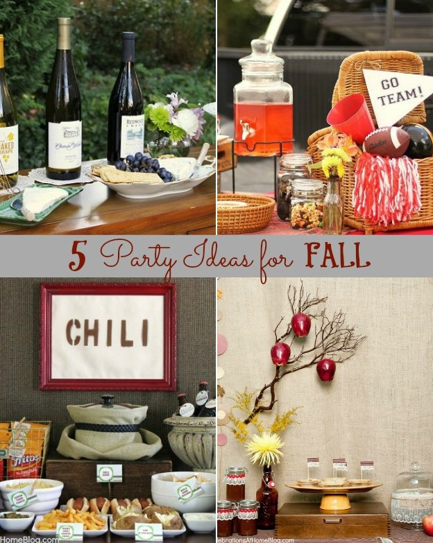 Party themes for fall gatherings celebrations at home