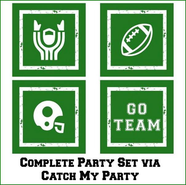 free football printables on catch my party