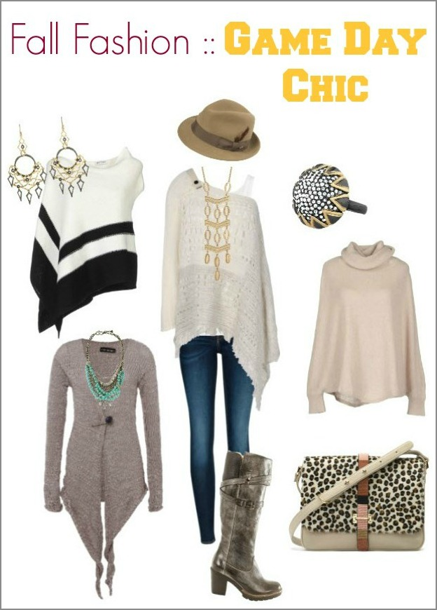fall fashion - game day chic