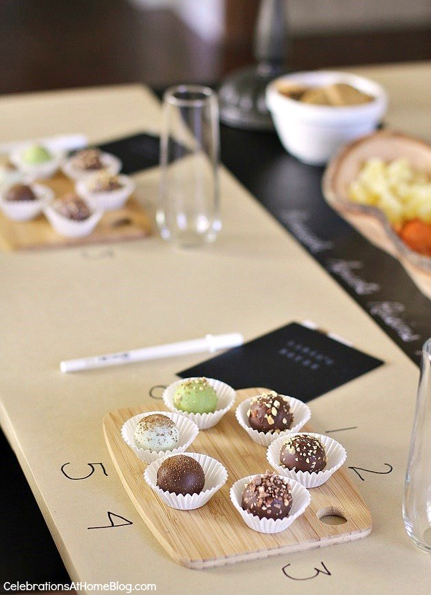 host a ladies night in chocolate tasting party with these ideas and tips