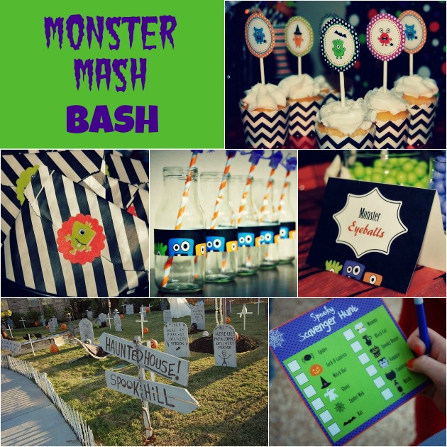 Monster Mash Bash Halloween Party Ideas {Guest Feature}