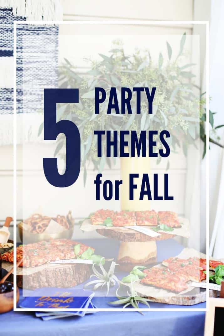 5 party themes for fall