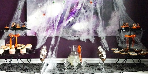 Spooky Spider Halloween Party {Guest Feature}