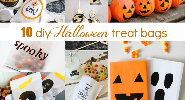 It's In The Bag :: 10 DIY Halloween Treat Bag Ideas