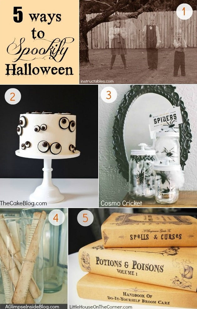 5 Easy Projects To SPOOKIFY Halloween