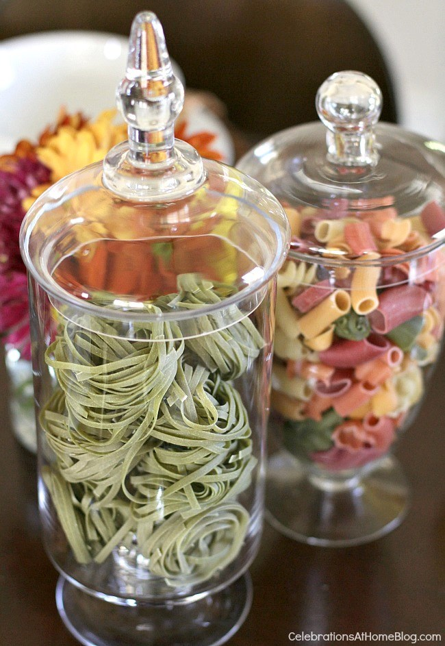 Entertaining : Italian Themed Dinner Party Ideas - Celebrations at Home
