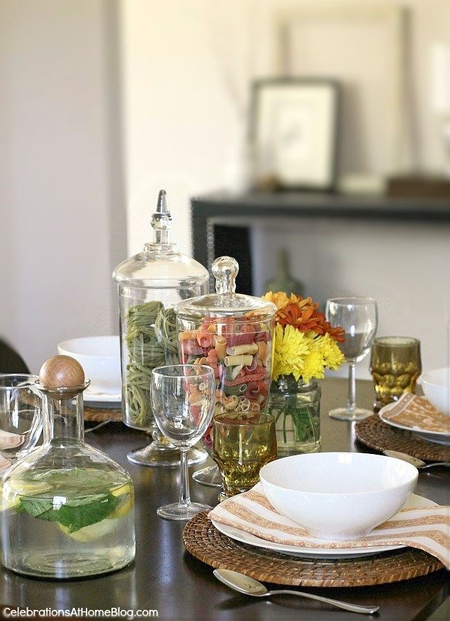 Interesting Dinner Party Ideas Part - 27: Host An Italian Themed Dinner Party With These Ideas And Inspiration.