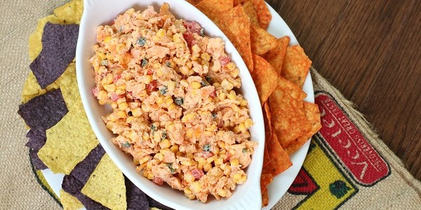 Sweet And Spicy Corn Dip
