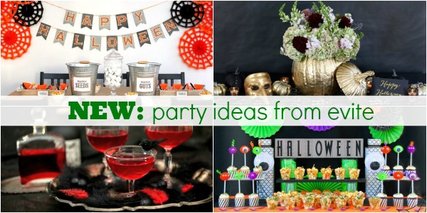 party ideas from evite