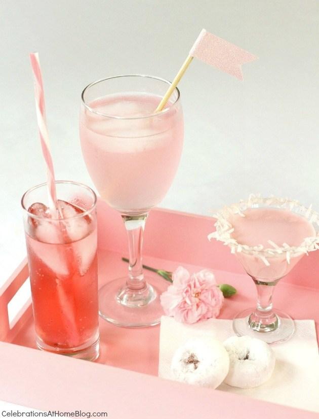 sleep pink drinks