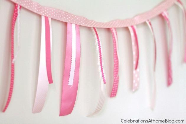 sleep pink ribbon banner
