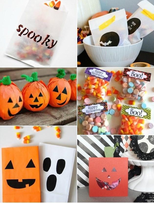 It's In The Bag :: 10 DIY Halloween Treat Bag Ideas - Celebrations ...