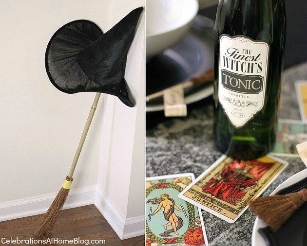 "Halloween party - ""witches night in"" theme for your best girl friends. park your broom!"