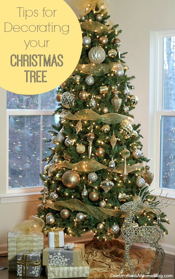 follow these tips for decorating your christmas tree for a perfectly decorated tree every time these step by step instructions are easy to follow and give