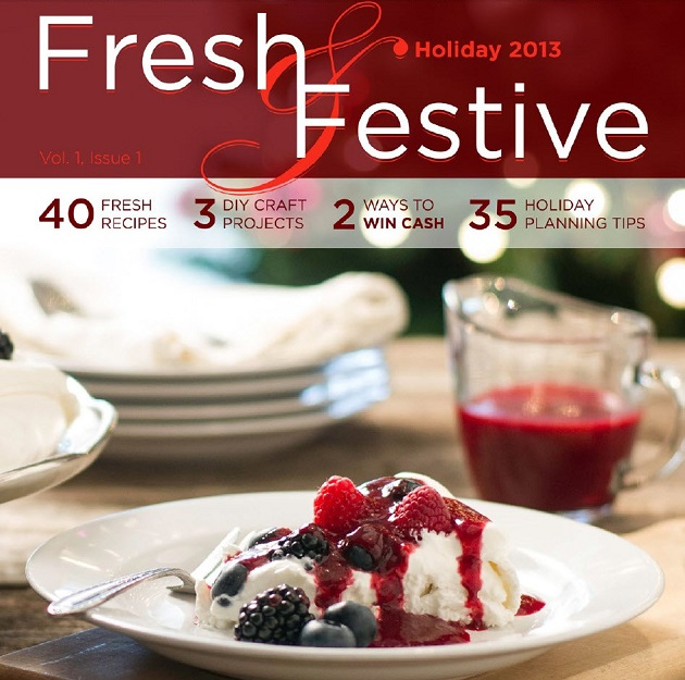 Fresh and Festive holiday ezine