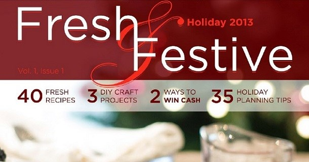 Fresh & Festive Holiday E-zine