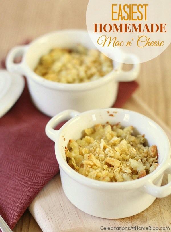 easiest Homemade mac n' cheese recipe