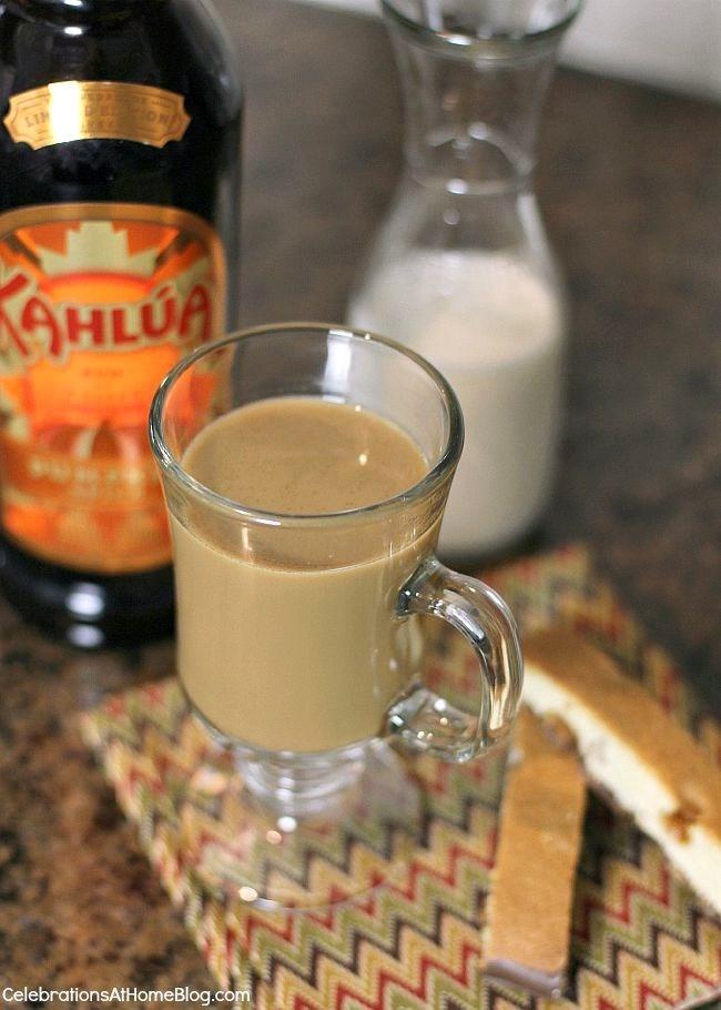 Hot Coffee Kahlua Drink Recipes