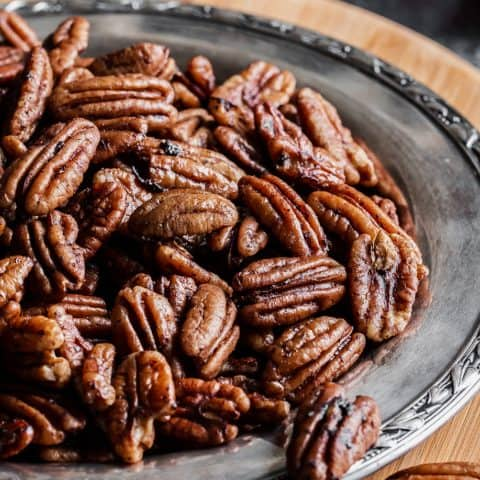savory spiced pecans recipe