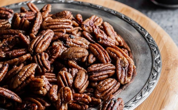 Savory Spicy Pecans – Easy Party Recipe