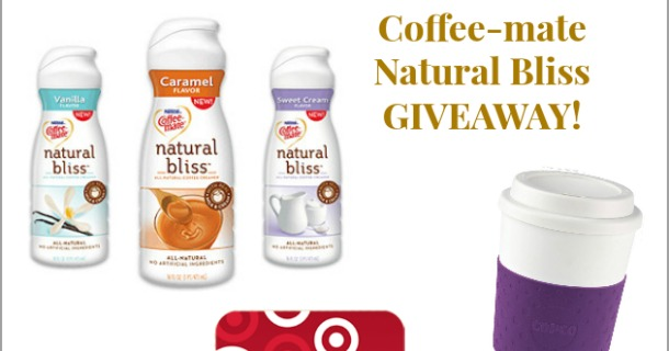 0 COFFEE-MATE NATURAL BLISS GIVEAWAY