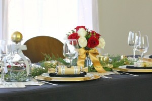 Music Themed Christmas Tablescape