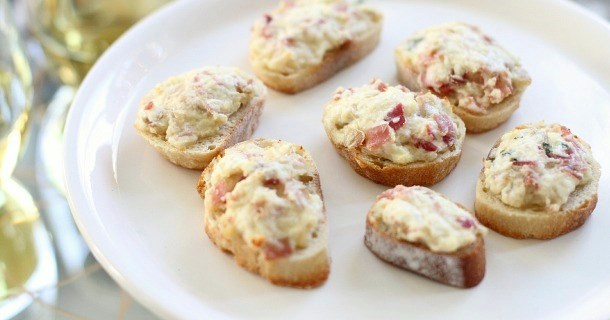 Ham & Parmesan Appetizers