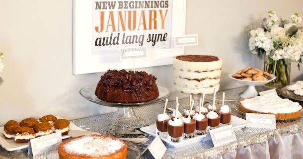 Host a Brunch to Celebrate the New Year {Guest Feature}
