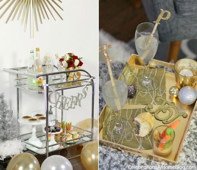 Holiday girls night in - Host a Christmas cocktail party for the girls this season.