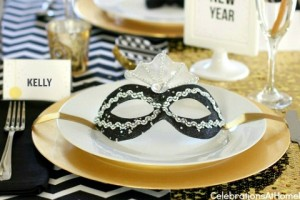 New years Eve dinner party