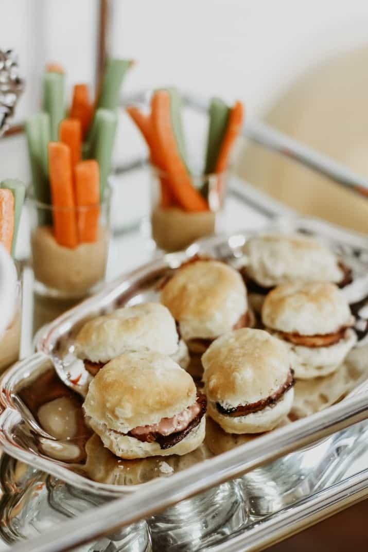 mini biscuit-sandwiches