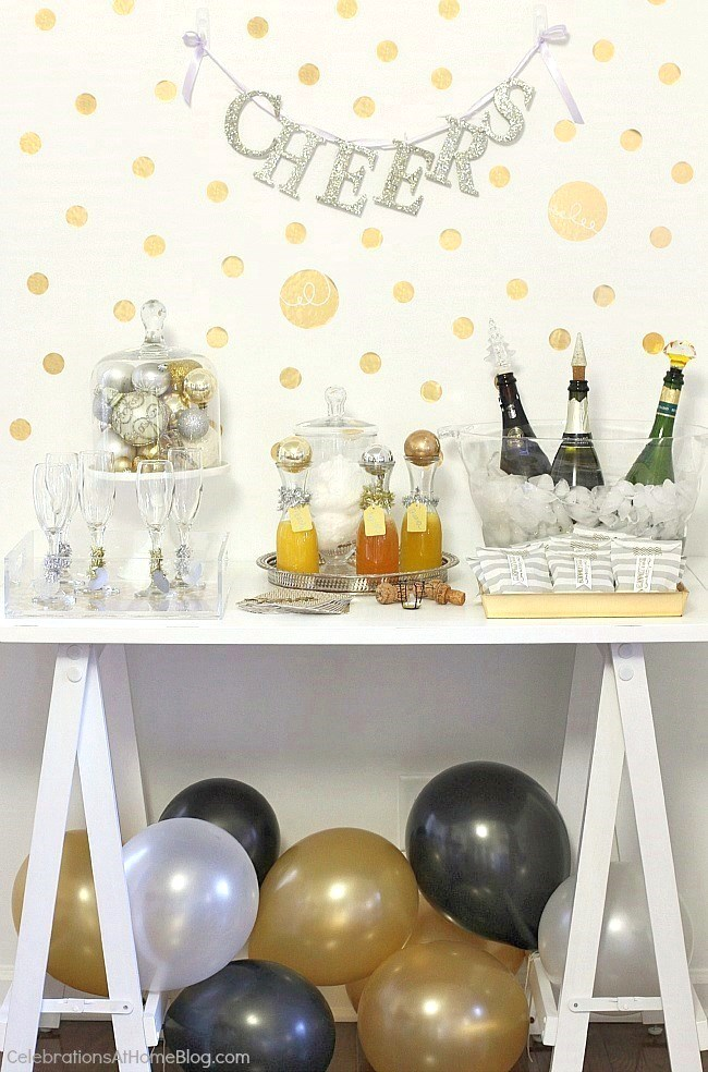Ideas for Setting Up a Bubbly Bar - Celebrations at Home