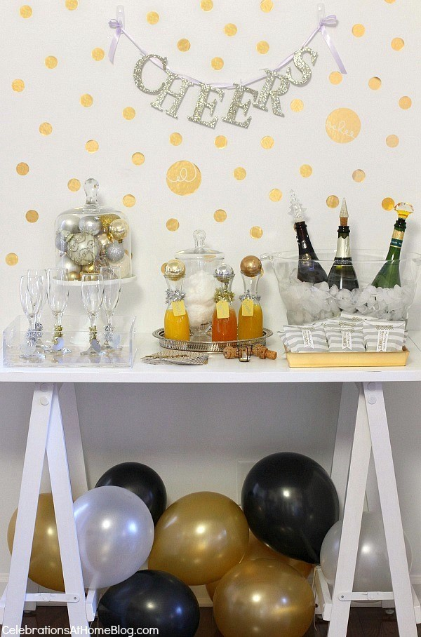 new years eve bubbly bar