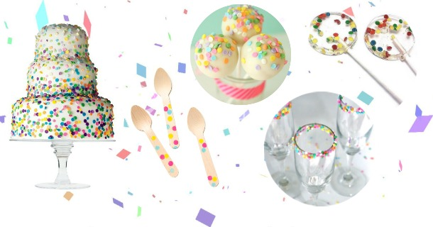 confetti party ideas