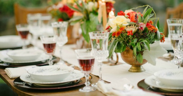 Beautiful Al Fresco Dinner Party {Guest Feature}
