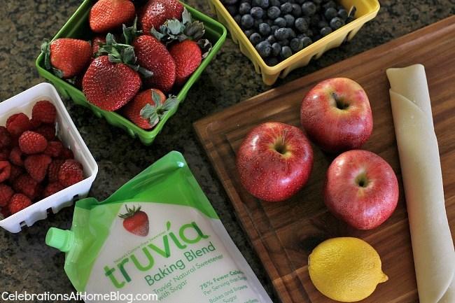 fruit galette ingredients