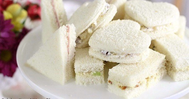 Tea Party Tea Sandwiches :: 3 Filling Recipes