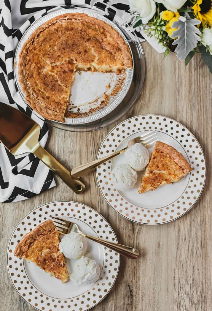 delicious chess pie recipe